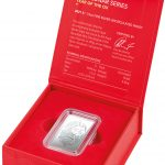 2021 Frosted Silver 1/2oz $1 Ingot - Lunar Year of the Ox