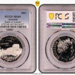 2018 UNC 50c Coin Battle of Amiens - PCGS MS69 TOP POP