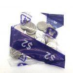 2019 UNC Security Bag 5c Coins IRB Effigy