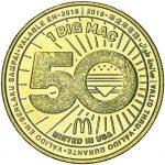 2018 McDonalds 50 Years of the Big Mac Token