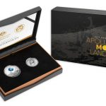 2019 Silver Proof 1oz 2-Coin Joint Set - 50th Anniversary of Moon Landing