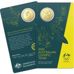 2020 UNC Gold Plate 50c Coin - Australian Olympic Team Tokyo 2020