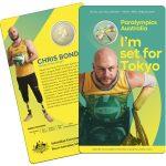 2020 UNC Coloured $1 Coin - Australian Paralympic Team Tokyo 2020